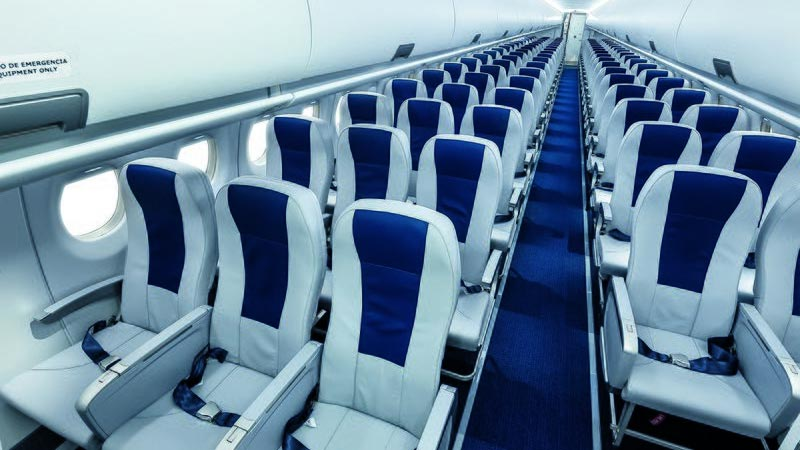 photo of airplane seats