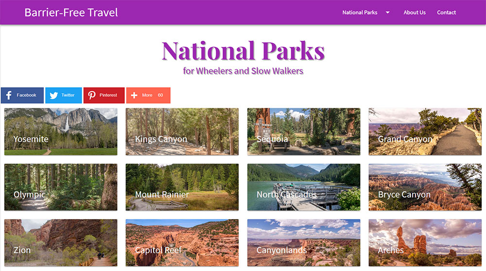 New Accessible National Park Resource