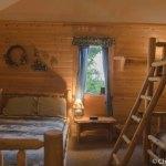 Bedroom in Cabin 1