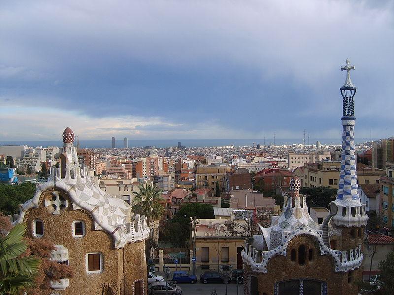 Barcelona in Parc Güell