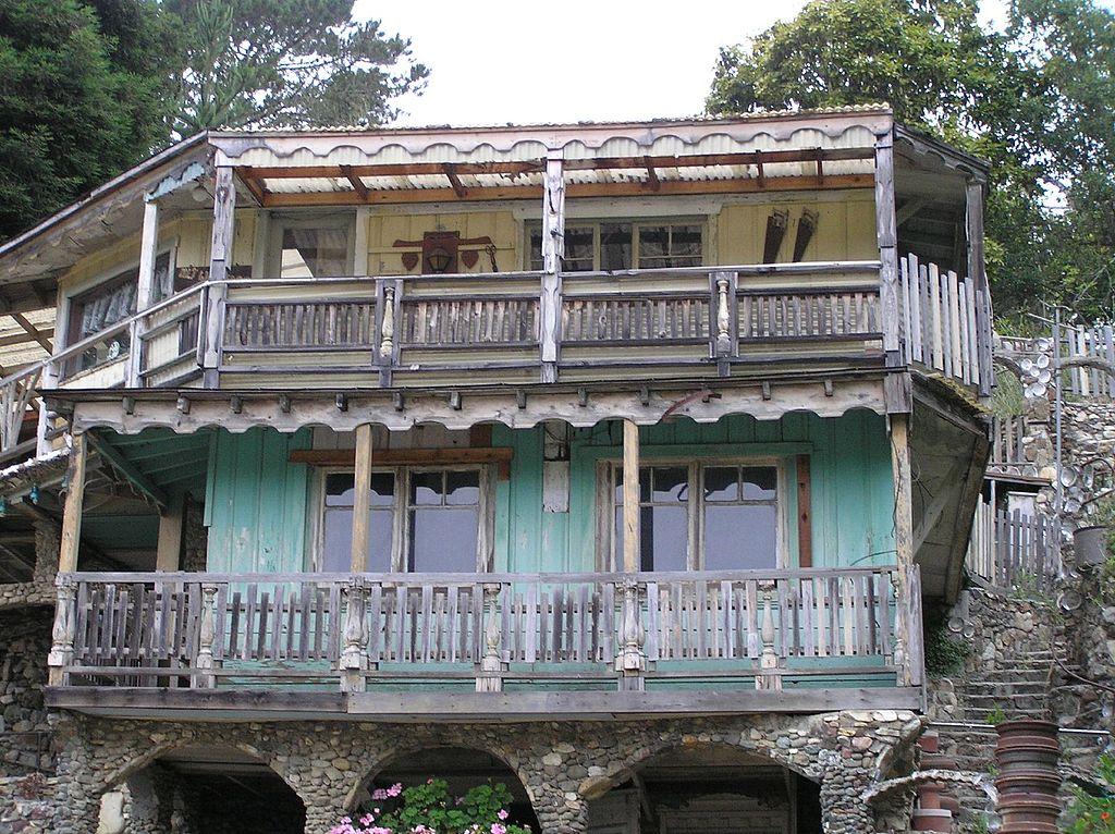 Nittwitt Ridge house in Cambria, California