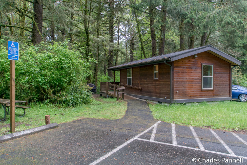 Cabin K15 at Fort Stevens State Park