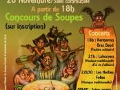 Fête de la soupe au Juch! Le 26 novembre!