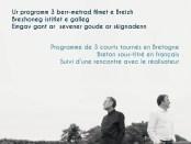 SINEMA - Filmoù Faltazi // Fictions en breton - 22/03/2018 - LE CLUB DOUARNENEZ - 19h