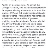 Journalists Issued With Gag Order as Prime Minister's Son Becomes Radio DJ. And Nurse Butler Could Lose her Job