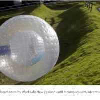 Zorb New Zealand Shut Down for Not Having a Safety Management System