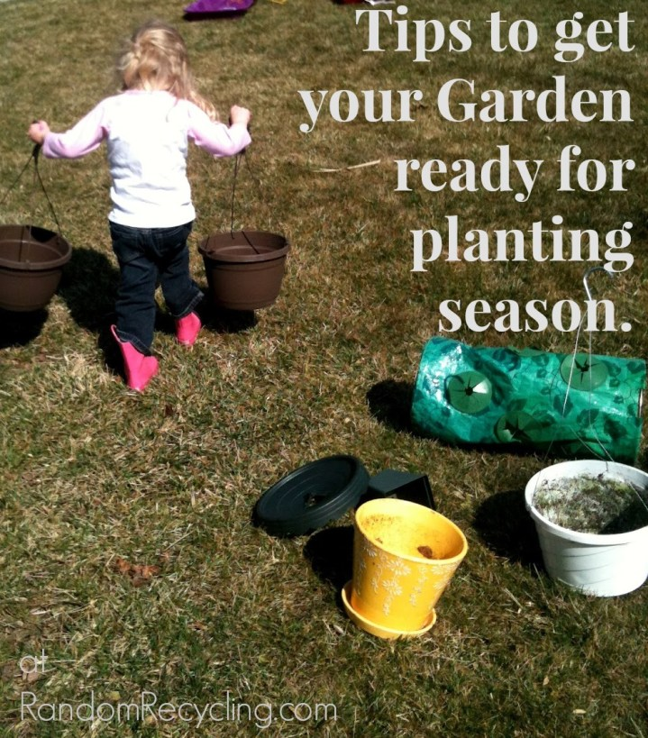 Tips to get your garden ready for planting season