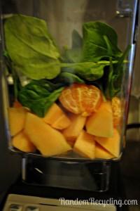 Blendtec blender green smoothie