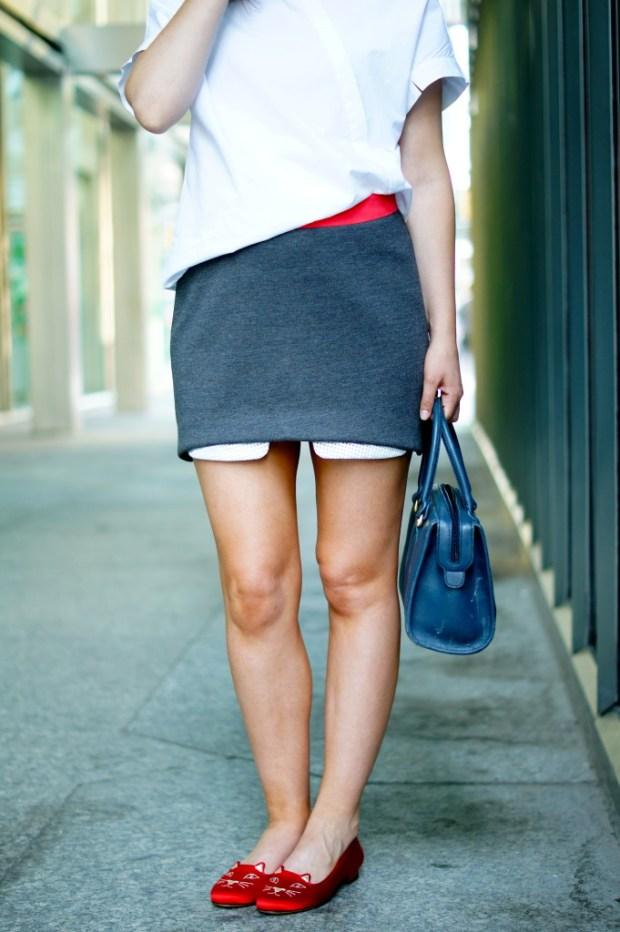 Erin Kleinberg Mini Skirt