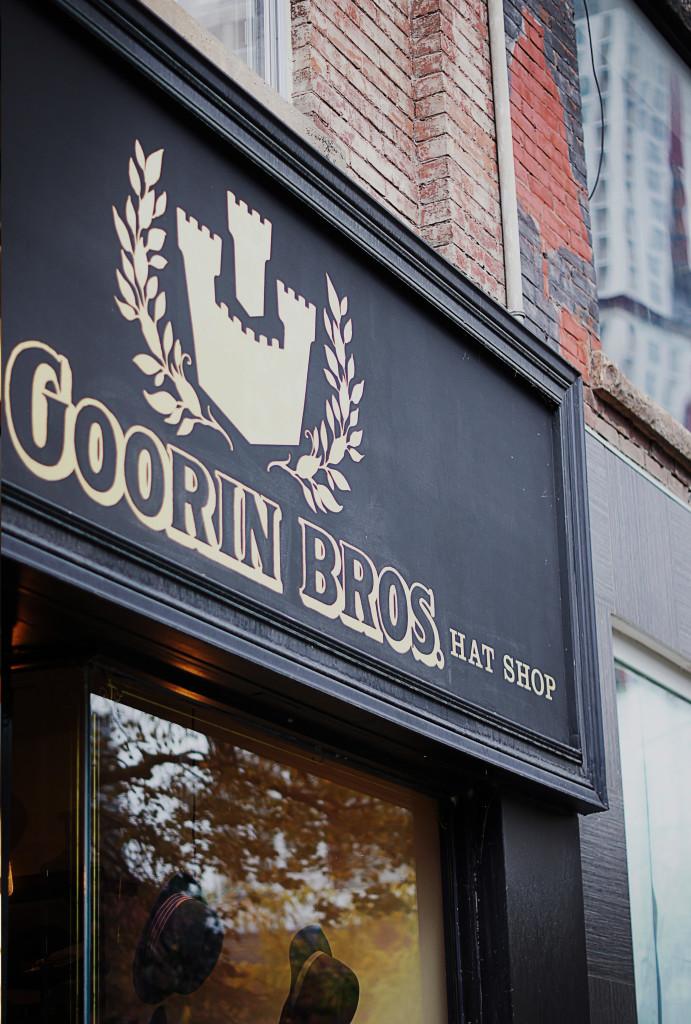 Goorin Bros. Queen Street Toronto