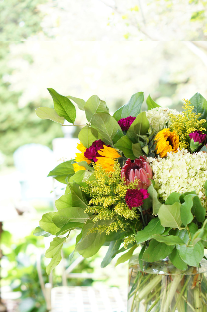 Large Fall Flower Arrangement