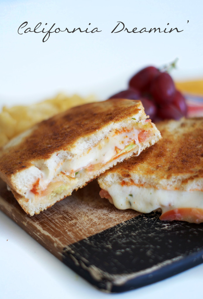 Grilled Cheese with Sriracha