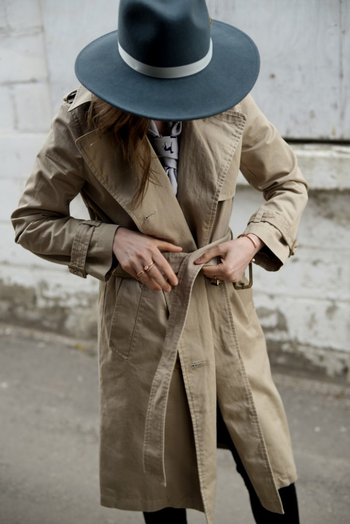 The trench coat is a spring staple. This one from the Gap goes with just about everything!