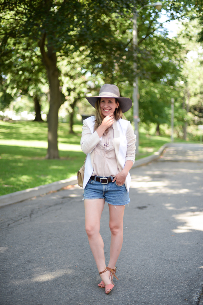 Vintage Levis Shorts with heels