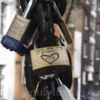 Love Locks in Amsterdam