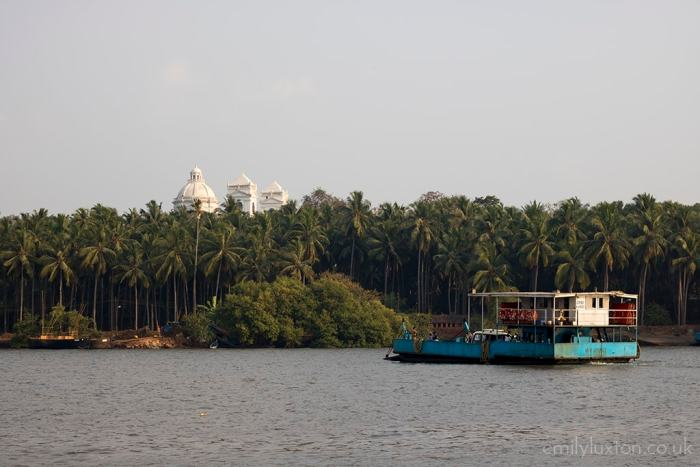 Ferry in Old Goa, India
