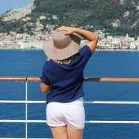 Me on the Silversea Cruise