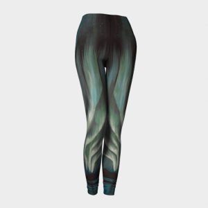 Sport Leggings, Contour Leggings, Teal Leggings