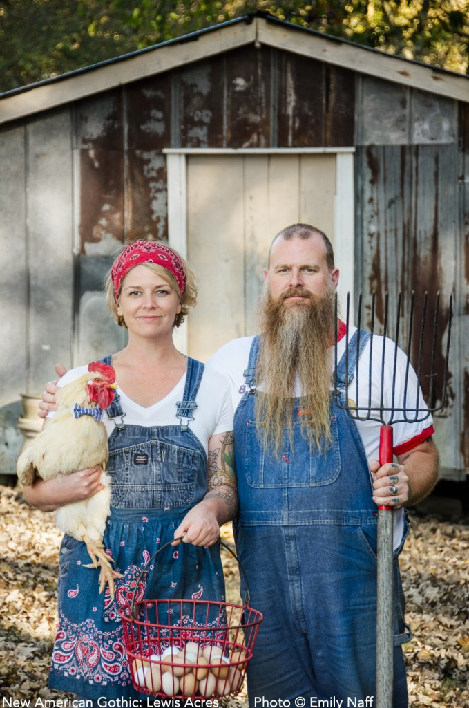 Nicole and Mark Lewis of Lewis Acres. Centerville, TN