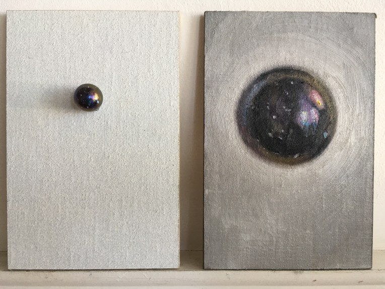 marble and portrait