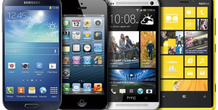 Comparison between Samsung Galaxy S4-iPhone 5-HTC One and Nokia Lumia 420
