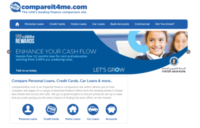Top site to Compare Banking Products,Personal Loan Compare