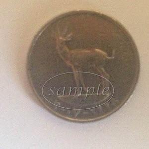 UAE 25 fils coin back
