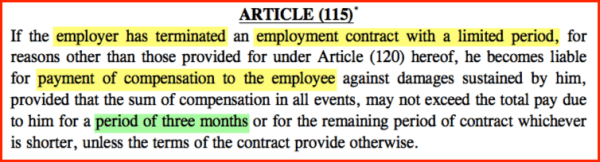 compensation-while-getting-fired-uae