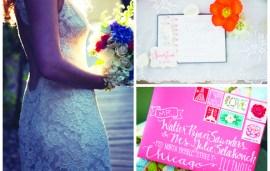 Wedding Inspiration Mood Board | Summer Ideas