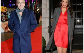 George Clooney Proposes To Girlfriend Amal Alamuddin
