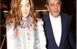 Charles Saatchi Upsets Girlfriend At Same Spot as Nigella Lawson Attack