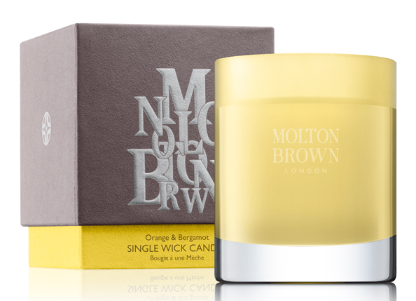 Orange and Bergamot Candle Dhs235 Molton Brown