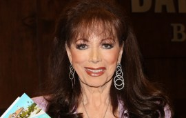 Jackie Collins Dies From Cancer Aged 77