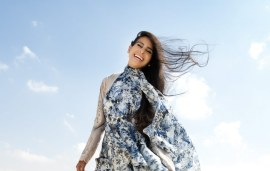 Haif Zamzam Shows Off Erdem's Exclusive Gown For Harvey Nichols-Dubai