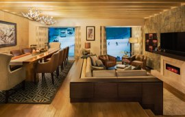 Video: Inside The New Dhs25,000 Ski Chalet Suite In Kempinski Hotel Mall of the Emirates