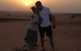 Man Surprises Girlfriend With Proposal During Dubai Safari