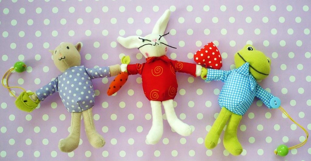Drei Freunde für Frieda