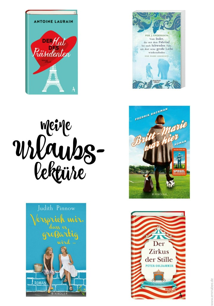 EmmaBee Urlaubs-Lektüre Buch
