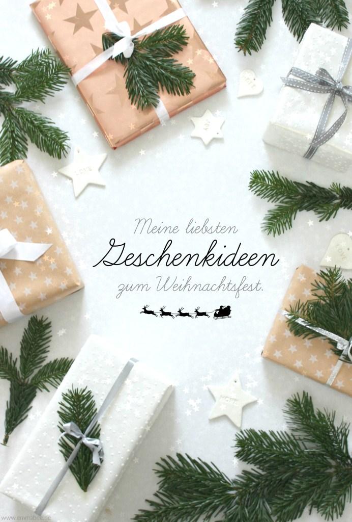 {Leben} Ein paar meiner liebsten Geschenkideen fürs Weihnachtsfest…