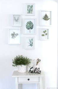 EmmaBee DIY Floating-Frames