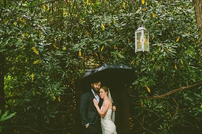Carolyn Scott Photography | Unique Woodsy Wedding in North Carolina at Black Mountain Sanctuary - http://wp.me/p1g0if-xTG