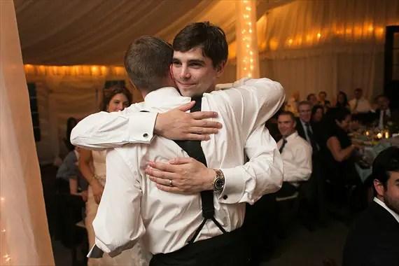 Dennis Drenner Photographs - evergreen house wedding - speech by best man