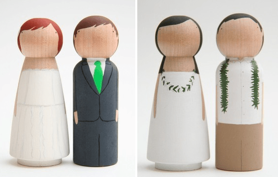 cake toppers bride groom