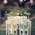fabric chair bows for weddings