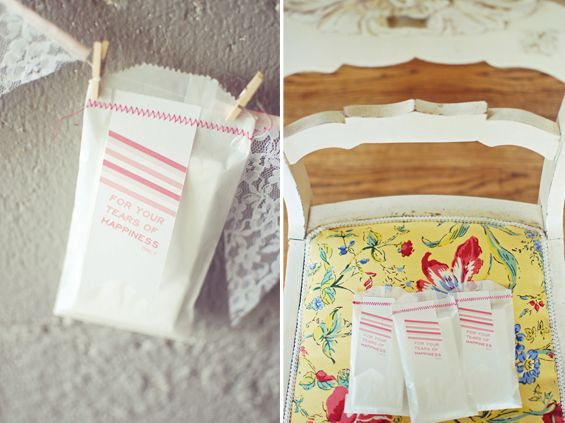 diy tissue packet