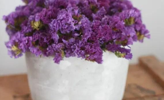 purple unique wedding centerpieces