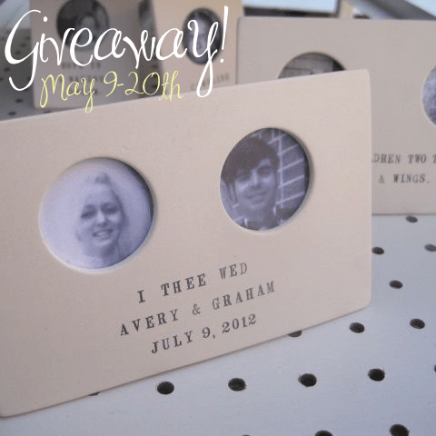wedding giveaway