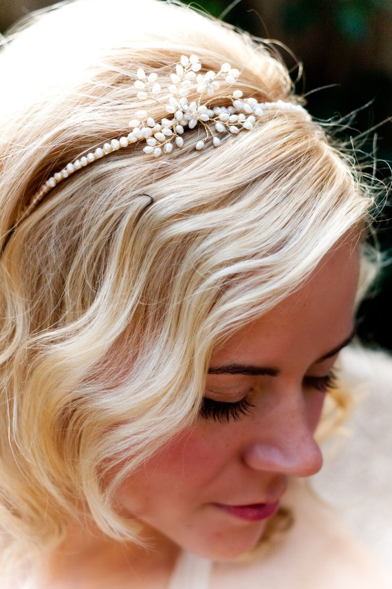 wedding day tiara