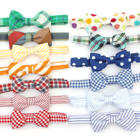 ring bearer bow ties