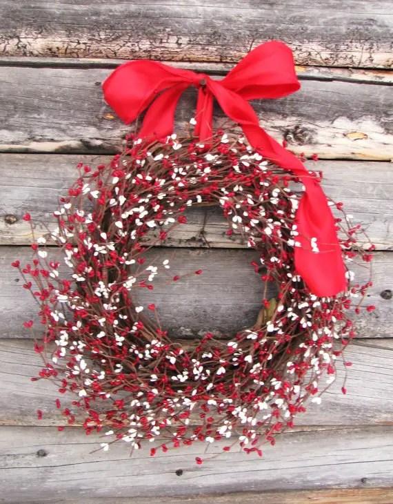 winter wedding wreaths
